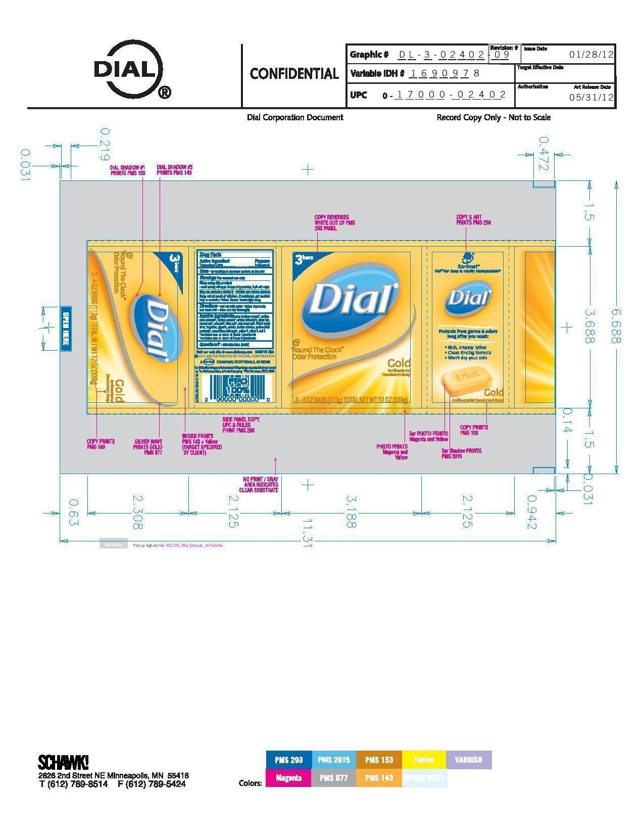 Dial Antibacterial (Triclocarban) Soap [Vvf Illinois Services Llc]