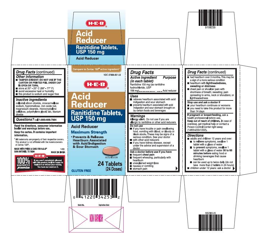 Acid Reducer (Ranitidine) Tablet [H E B]