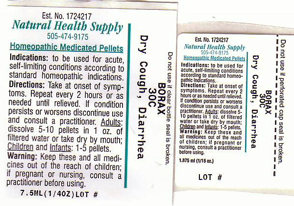 Dry Cough Diarrhea (Sodium Cation) Pellet [Natural Health Supply]