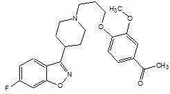 FANAPT structural formula