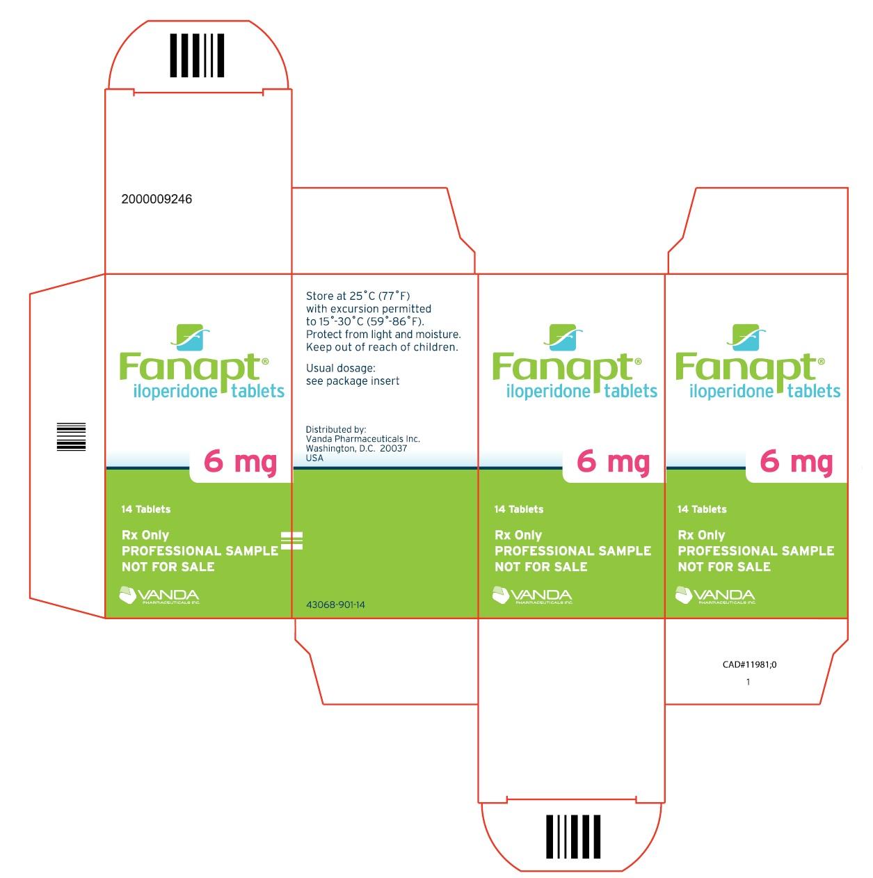 PRINCIPAL DISPLAY PANEL - 6mg bottle