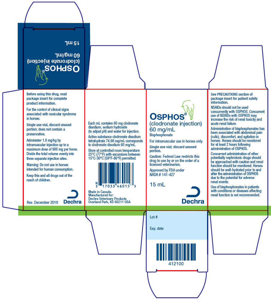 Osphos (Clodronate Disodium) Injection, Solution [Dechra Veterinary Products]