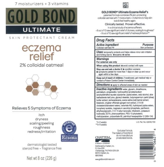 Gold Bond Ultimate Eczema Relief (Colloidal Oatmeal) Cream [Chattem, Inc.]