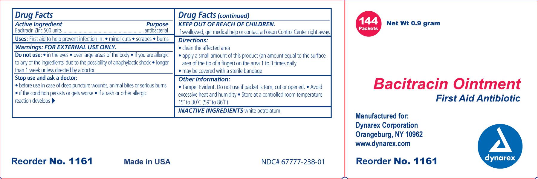 Bacitracin Zinc Ointment [Dynarex Corporation]
