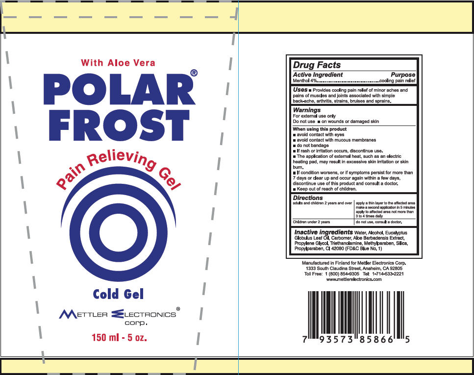 Polar Frost Cold (Menthol) Gel [Mettler Electronics Corp.]