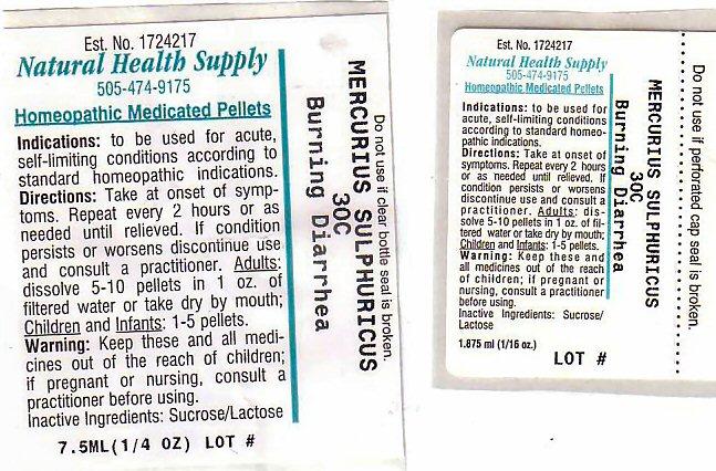 Burning Diarrhea (Mercuric Sulfate) Pellet [Natural Health Supply]