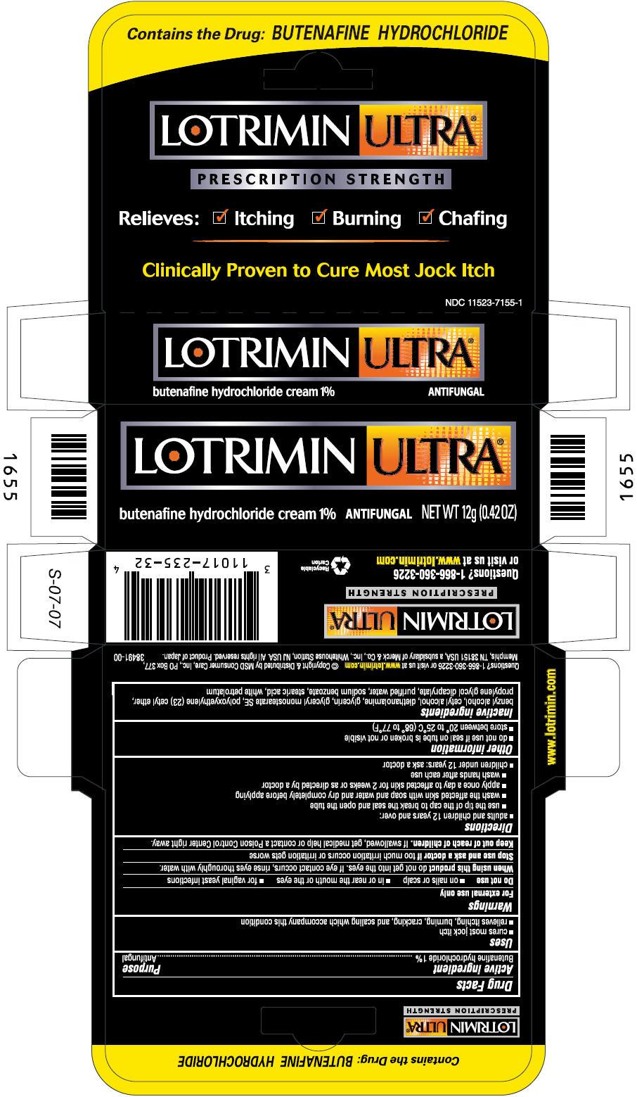 Lotrimin Ultra Jock Itch Antifungal (Butenafine Hydrochloride) Cream [Msd Consumer Care, Inc.]