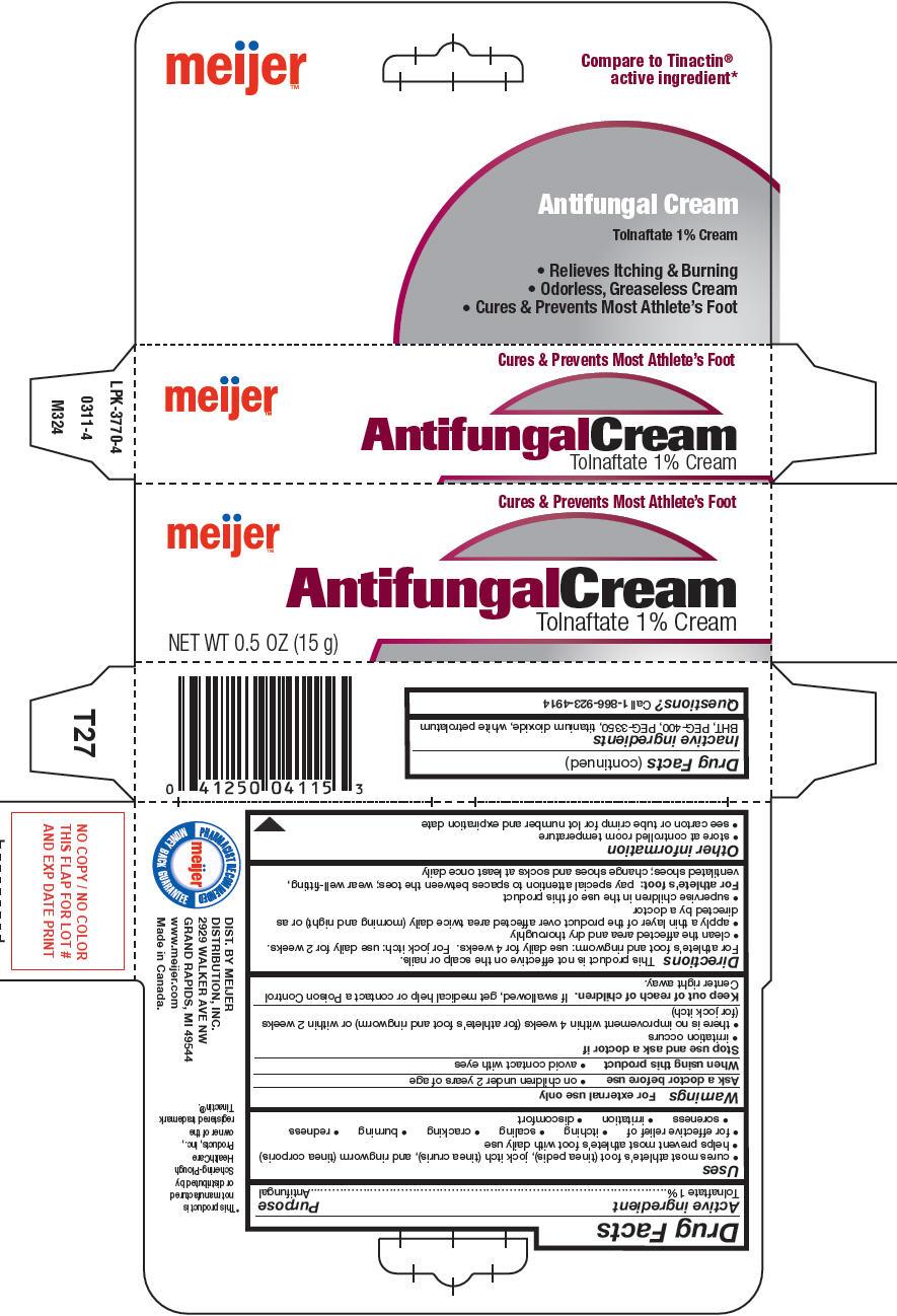 Meijer Antifungal (Tolnaftate) Cream [Meijer Distribution Inc]