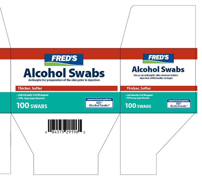 Alcohol (Isopropyl Alcohol) Swab [Fred's Inc.]