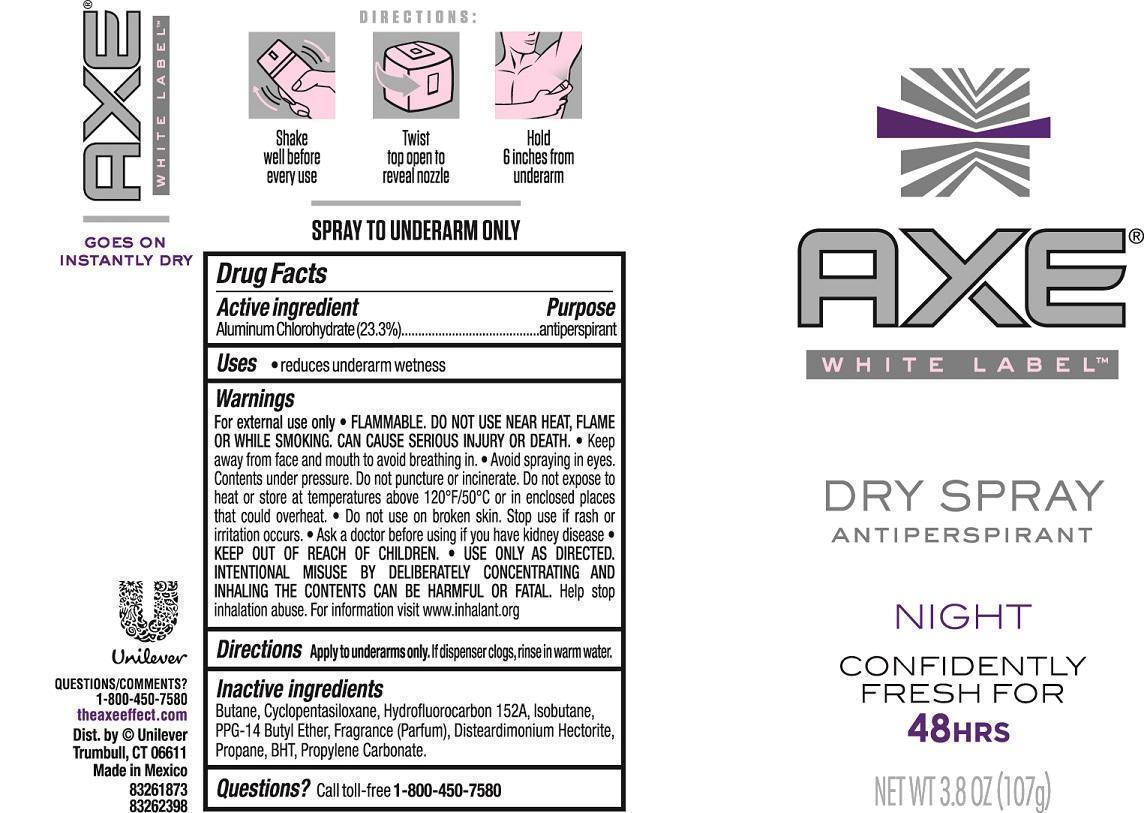 Degree Fresh Energy Antiperspirant (Aluminum Chlorohydrate) Aerosol, Spray [Conopco Inc. D/b/a Unilever]