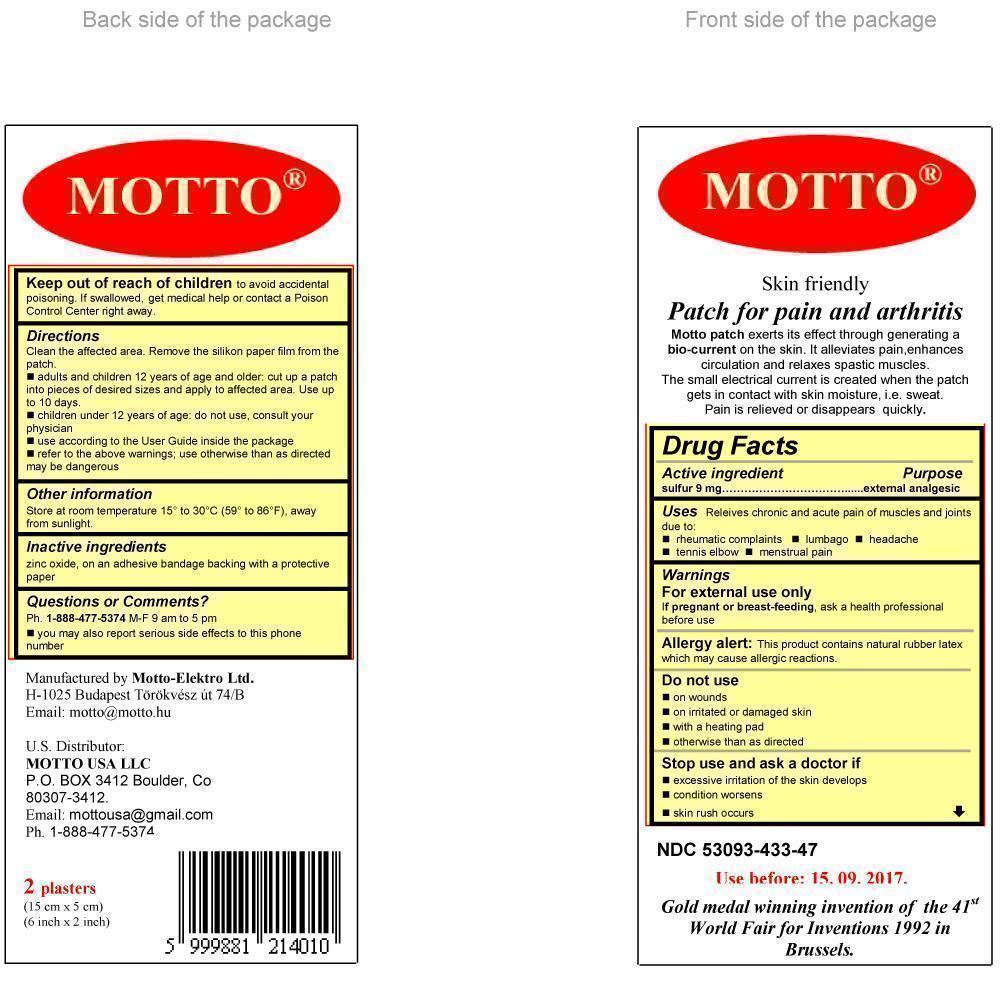 Motto (Sulfur) Patch [Motto-elektro Ltd.]