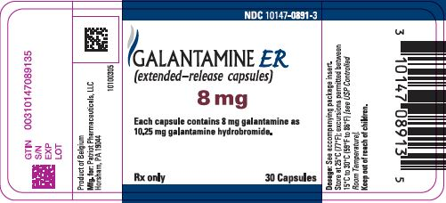 Galantamine Hydrobromide Tablet, Film Coated Galantamine Hydrobromide Capsule, Extended Release [Patriot Pharmaceuticals, Llc]