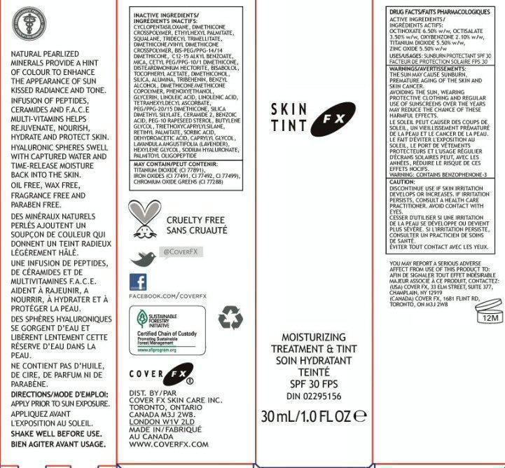 Skin Tint Fx (Octinoxate, Octisalate, Oxybenzone, Titanium Dioxide, Zinc Oxide) Cream [Cover Fx Skin Care, Inc.]