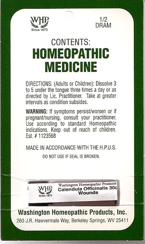 Calendula Officinalis Kit Refill (Calendula Officinalis Flowering Top) Pellet [Washington Homeopathic Products]