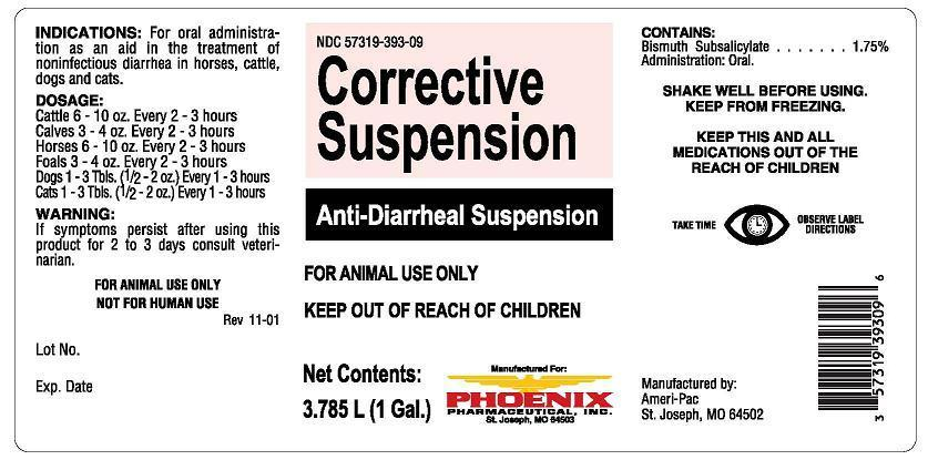 Corrective (Bismuth Subsalicylate) Suspension [Phoenix Pharmaceutical Inc./ Clipper Distributing, Inc.]