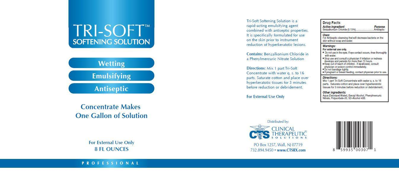 Tri-soft Softening (Benzalkonium Chloride) Solution [Clinical Therapeutic Solutions]