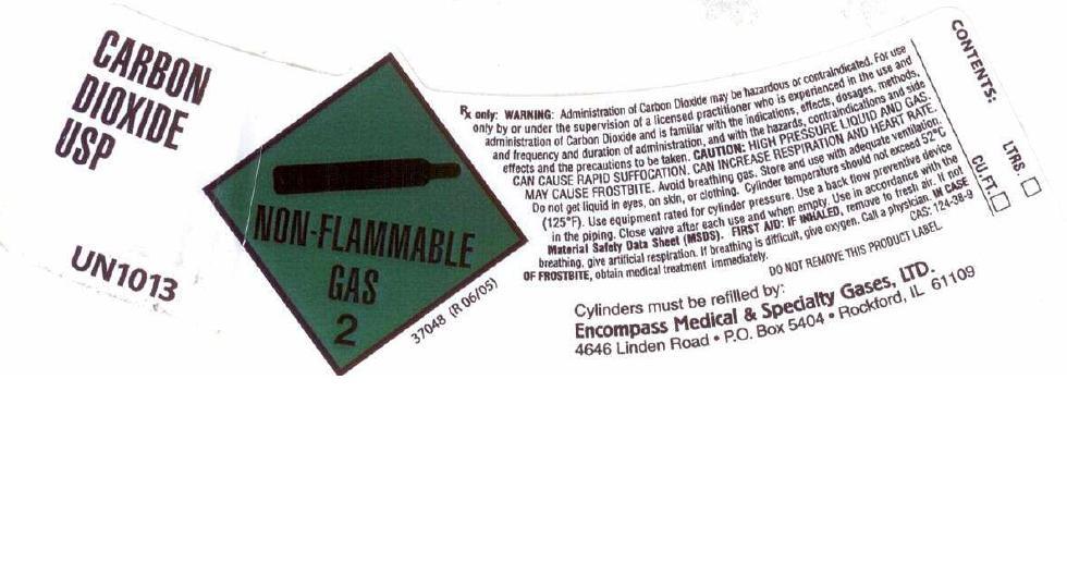 Carbon Dioxide Label 1