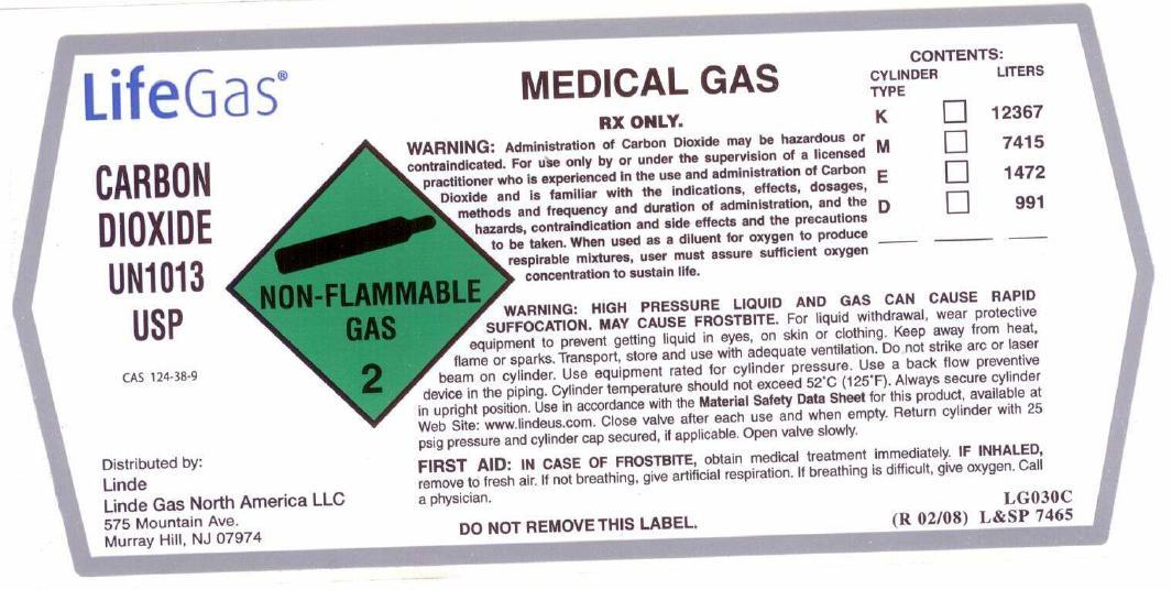Carbon Dioxide Label 2