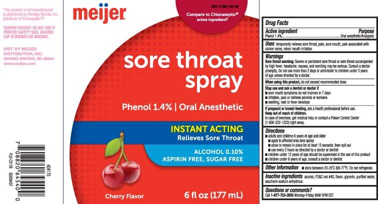 Sore Throat Cherry (Phenol) Spray [Meijer, Inc.]