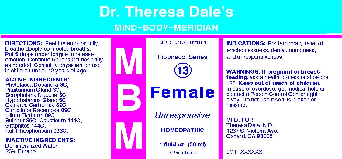 MBM 13 Female