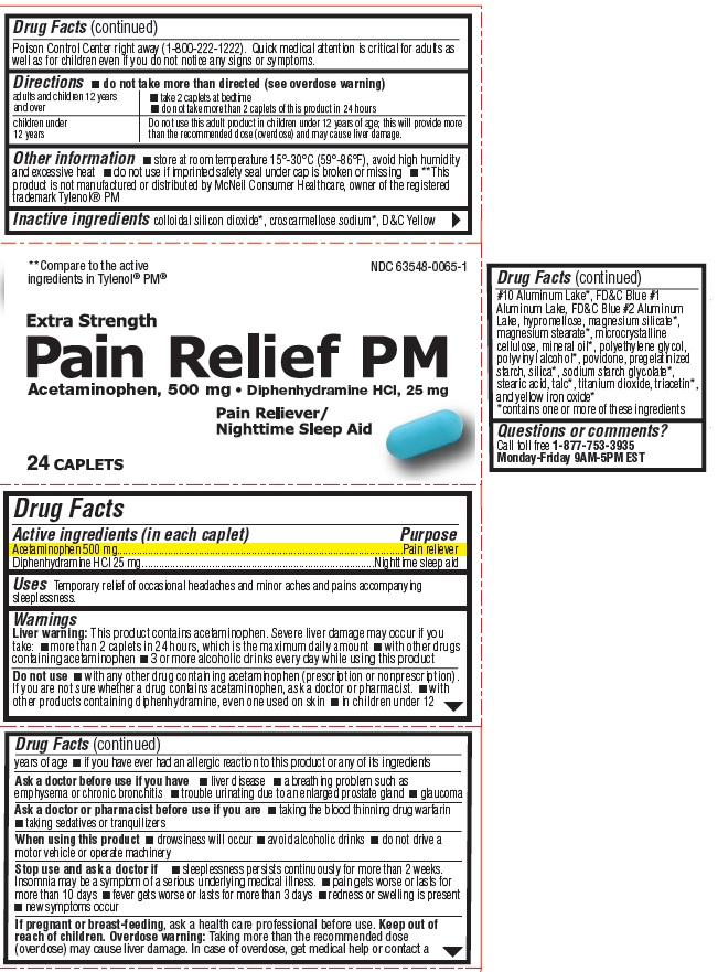 Pain Relief PM