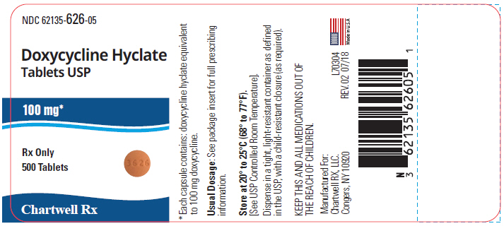 Doxycycline Hyclate Tablet, Film Coated [Chartwell Rx Llc]