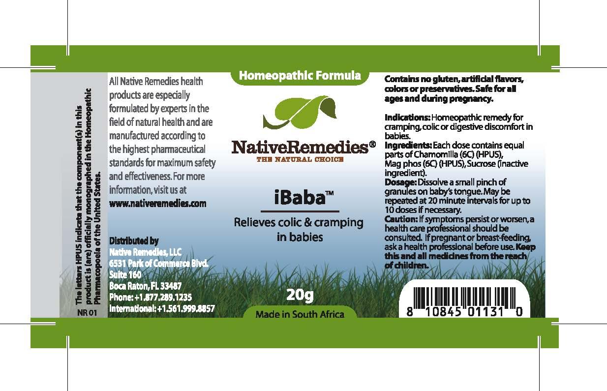 Ibaba (Chamomilla , Mag Phos, Sucrose ) Granule [Feelgood Health]