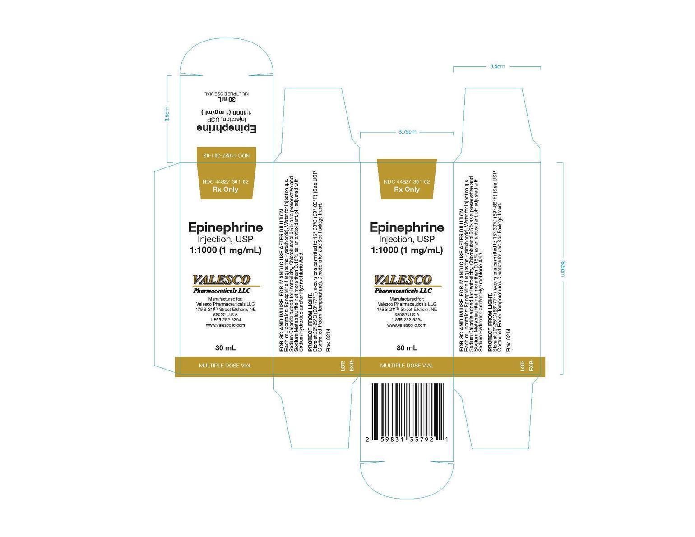 Epinephrine Injection, Solution [Valesco Pharmaceuticals Llc.]