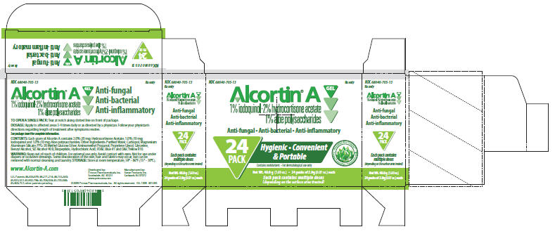 Alcortin A (Hydrocortisone Acetate, Aloe Vera Leaf And Iodoquinol) Gel [Primus Pharmaceuticals]