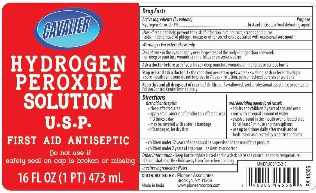 Hydrogen Peroxide Solution [Pioneer Associates]
