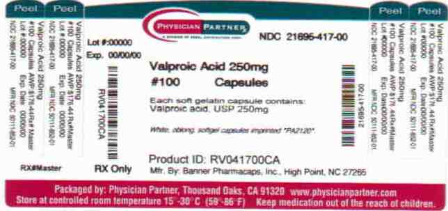 Valproic Acid 250 mg