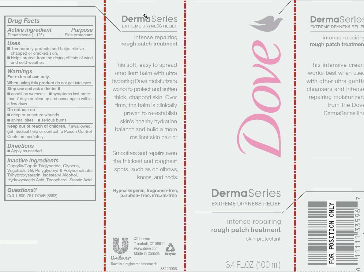 Dove Dermaseries Rough Patch Treatment (Dimethicone) Lotion [Conopco Inc. D/b/a Unilever]