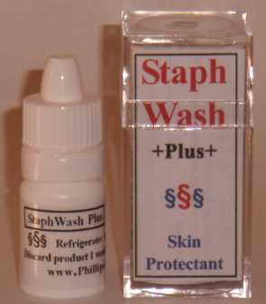 Staphwash Plus (Zinc Acetate) Liquid [Phillips Company]