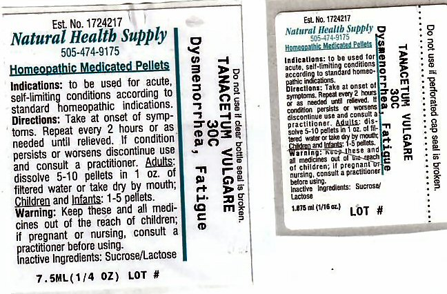 Dysmenorrhea Fatigue (Tanacetum Vulgare Top) Pellet [Natural Health Supply]