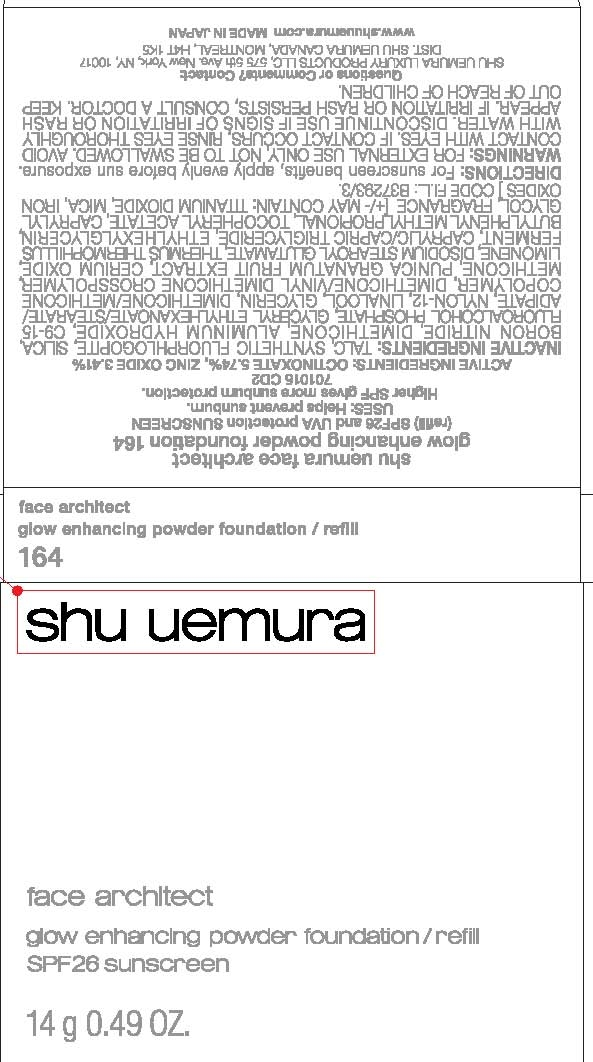 Shu Uemura Face Architect Glow Enhancing Foundation Spf 26 (Octinoxate Zinc Oxide) Powder [Cosmelor Ltd]