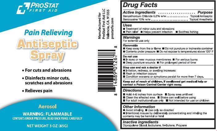 Prostat Antiseptic First Aid (Benzocaine And Benzethonium Chloride) Aerosol, Spray [Prostat First Aid]