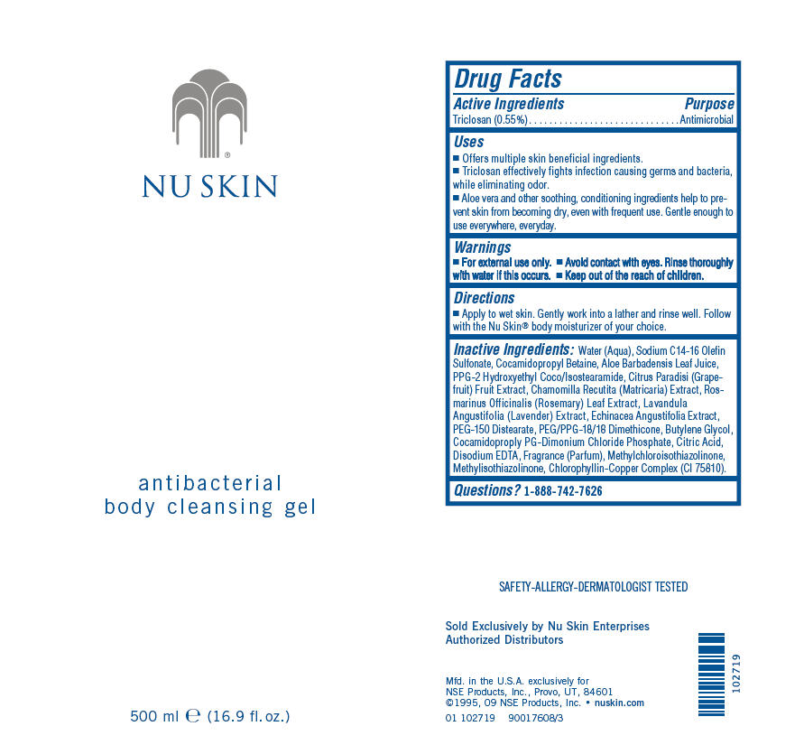 Nu Skin Antibacterial Body Cleansing (Triclosan) Gel [Nse Products, Inc.]
