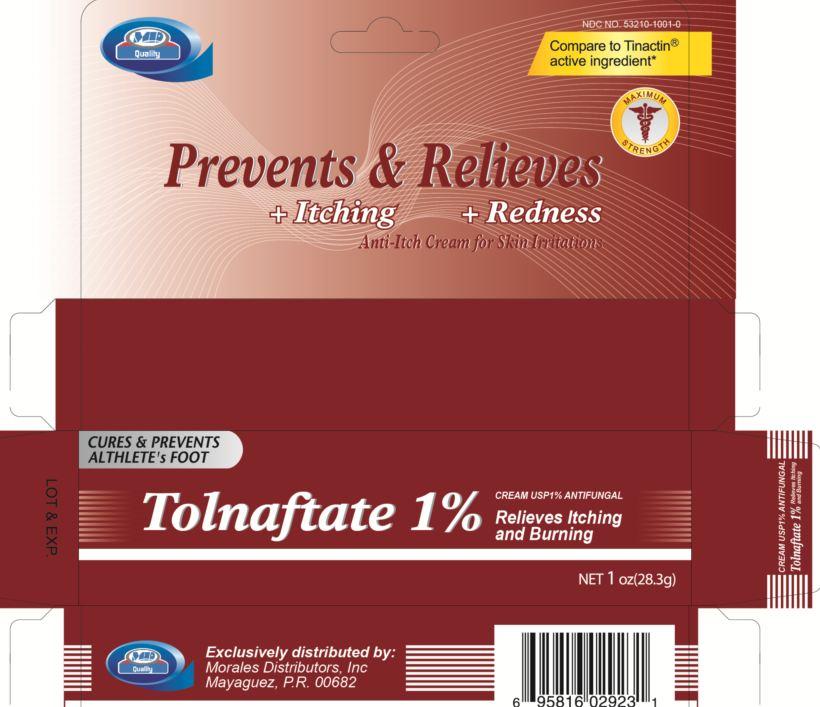 Tolnaftate Cream [Morales Distributors, Inc.]