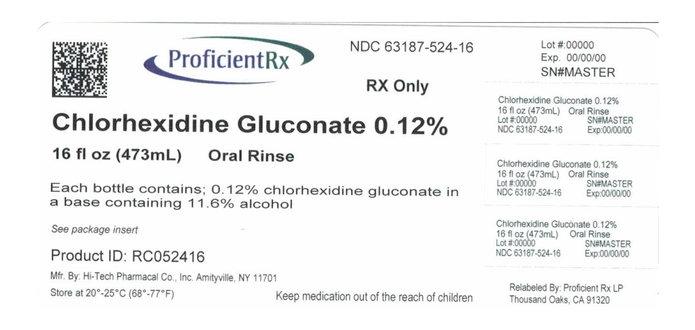 Chlorhexidine Gluconate Rinse [Proficient Rx Lp]