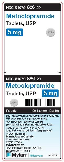 Metoclopramide Tablet [Mylan Institutional Inc.]