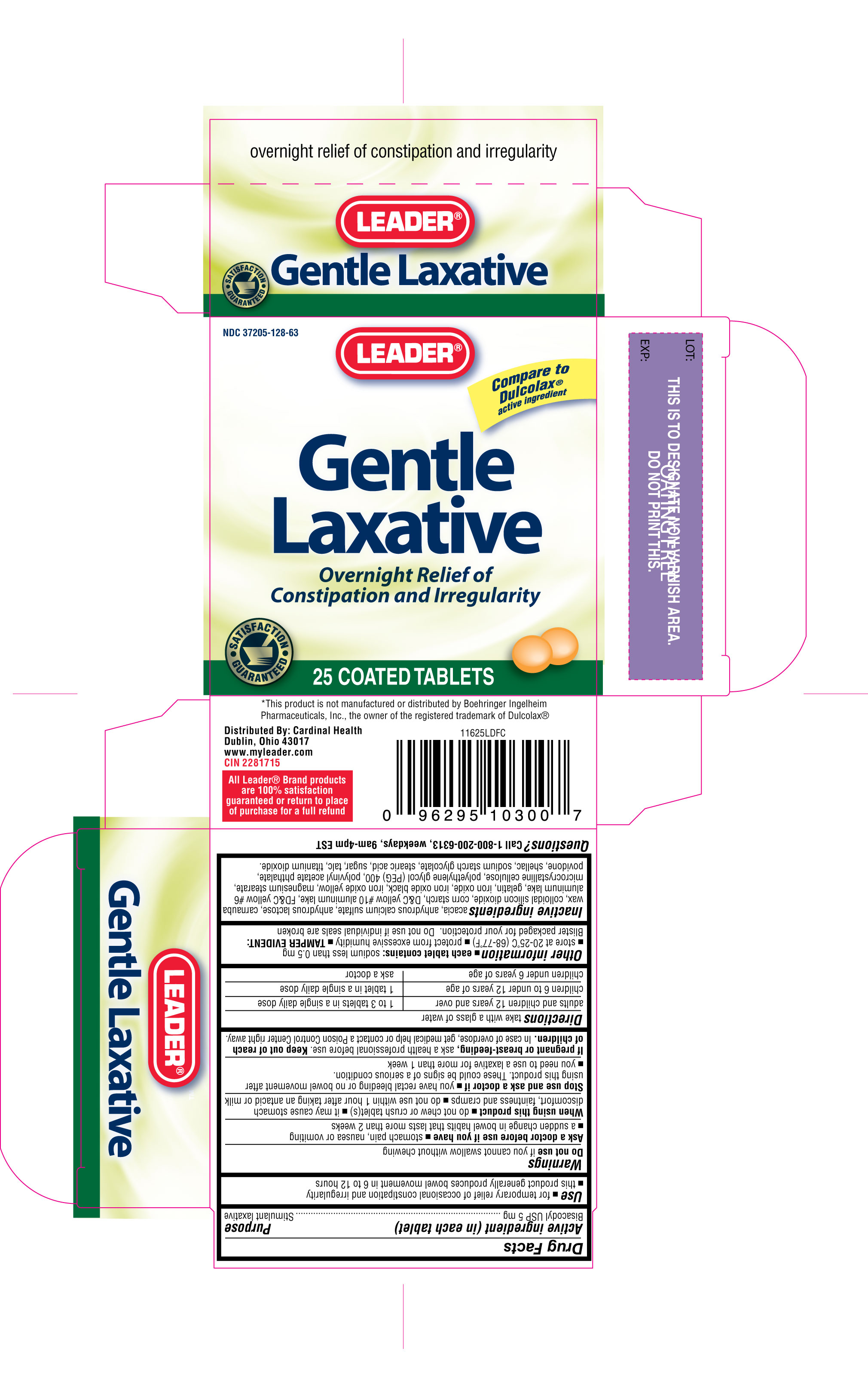 Leader Gentle Laxative