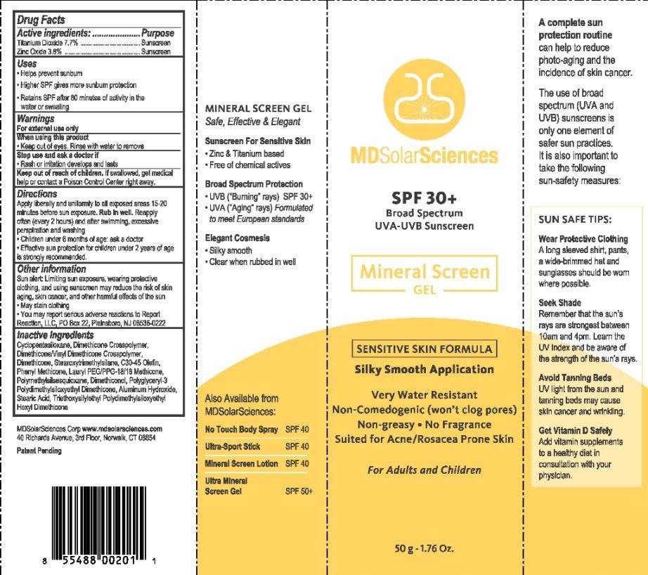 image of SPF30 Gel Carton