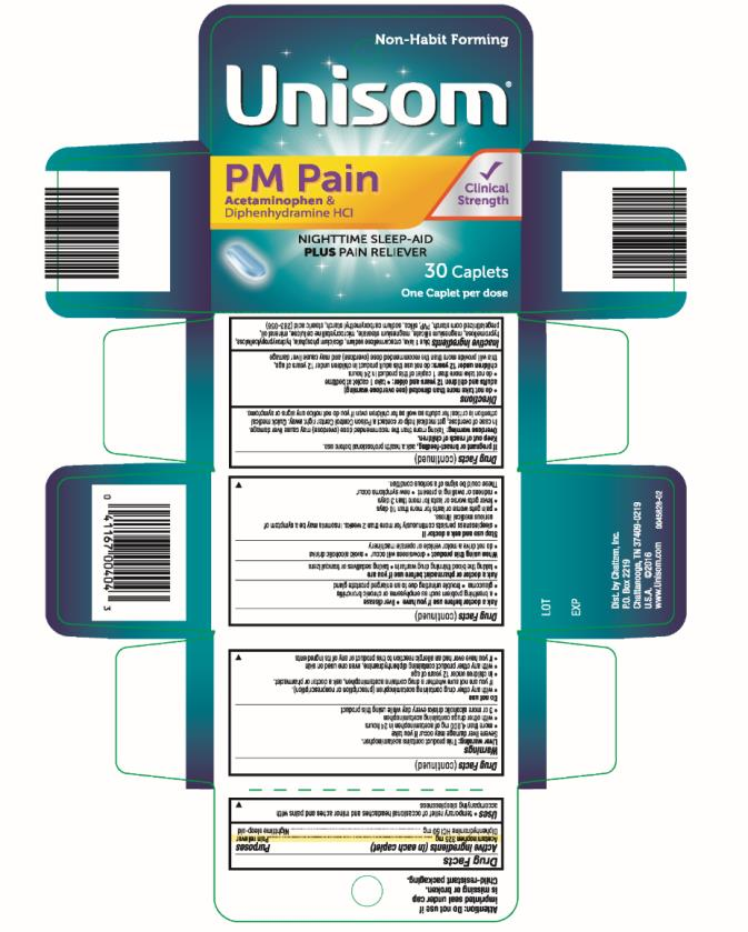 Unisom® PM PAIN SLEEPCAPSTM  30 Caplets