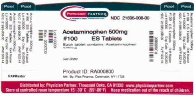 Acetaminophen 500mg