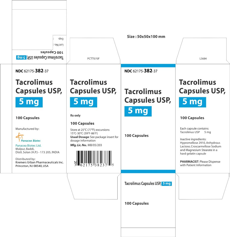 5 mg 100s Carton Label