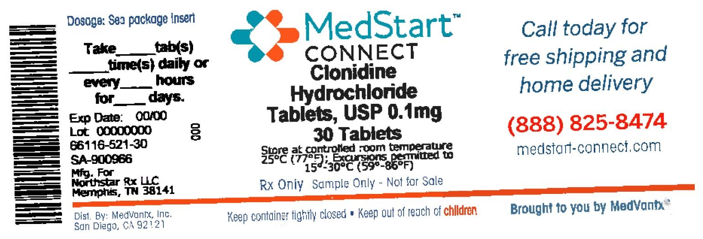 Clonidine Hydrochloride Tablet [Medvantx, Inc.]