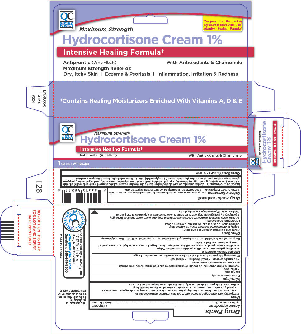Quality Choice Hydrocortisone (Hydrocortisone) Cream [Chain Drug Marketing Association]