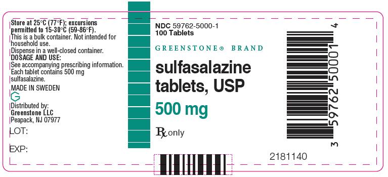 Sulfasalazine Tablet [Greenstone Llc]