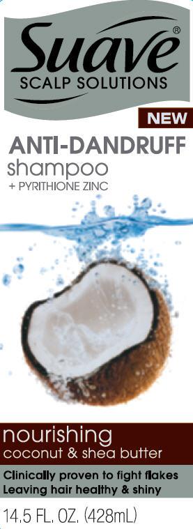 Suave Nourishing Coconut And Shea Butter Antidandruff (Pyrithione Zinc) Shampoo [Conopco Inc. D/b/a Unilever]