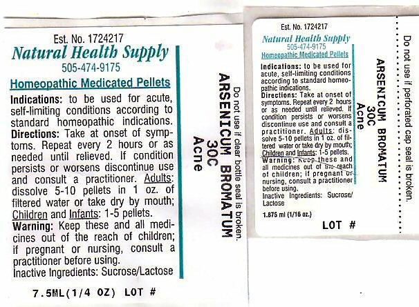 Acne (Arsenic Tribromide) Pellet [Natural Health Supply]
